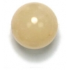 Semi-Precious 10mm Round Honey Jade